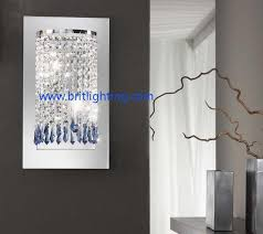 crystal sconces for bathroom astonishing crystal wall decor also k9 light modern sconce washing