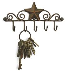 amazon com star key rack exclusive key holder wall organizer