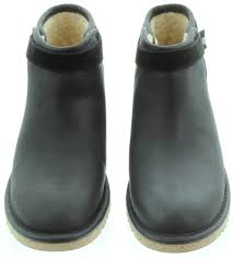 womens ugg rella boots ugg rella mini ankle boots in black in black