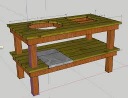 weber grill table design page 3 the bbq brethren forums