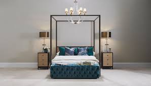 exclusive grainger four poster bed luxdeco com