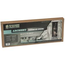 shadow hunter archery window kit 2 pack shadow hunter blinds