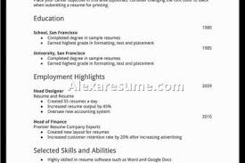 Resume Examples For Teenagers First Job by My Resume Sample My First Resume Objective Corporate Trainer