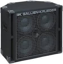 4x10 Guitar Cabinet Gallien Krueger 410rbh 8 4x10