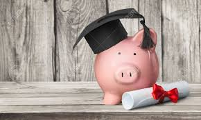graduation piggy bank graduation piggy bank stock photo picture and