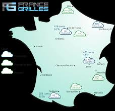 Annecy France Map by Cloud Resources France Grilles