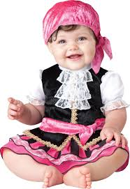 baby costumes spirit halloween pretty little pirate baby costume mr costumes