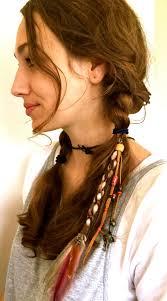 hippie hair accessories feather hair clip hippie hair wrap feather hair extensions