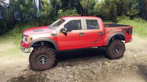 Ford Raptor Red - raptor svt v1 2 factory sunset red for spin tires