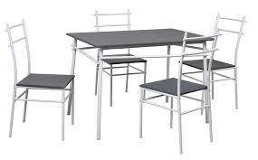 table de cuisine et chaise table cuisine grise table chaise lepetitsiam