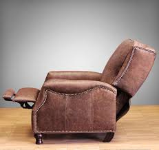 barcalounger ashton ii recliner chair leather recliner chair