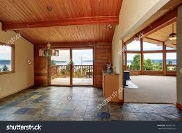 wooden trim home open floor plan stock photo 483066331 shutterstock