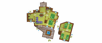 Silver Towers Floor Plans by Enchanted Village Treehouses
