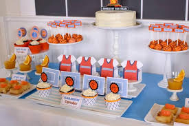 basketball party supplies kara s party ideas basketball themed 1st birthday party with