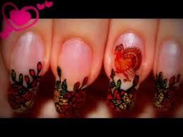 nail design thanksgiving nails migi pen fall leaves nail