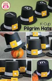 make a k cup pilgrim hat learning activities pilgrim and tot school