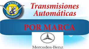 transmisiones automaticas mercedes benz solucion problemas