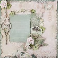 wedding scrapbook albums 12x12 premade 12x12 shabby chic scrapbook layout prima fabscraps
