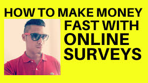Money Making Online Surveys - how to make money fast with online surveys 2016 youtube