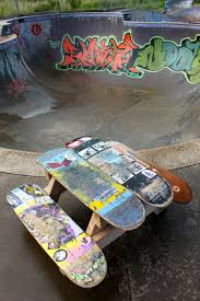 Skateboard Decorating Ideas Children U0027s Skateboard Picnic Table Pdf Instructions 15 00 Via