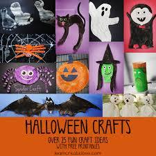 halloween crafts round up