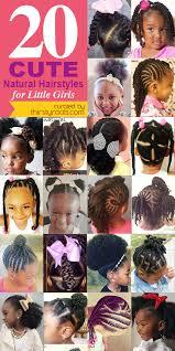 hairstyles for natural black girl hair 20 cute natural hairstyles for little girls