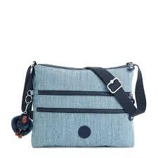 light blue crossbody purse crossbody bags cute crossbody purses in nylon more kipling