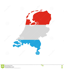 Map Of Netherlands Map Of Netherlands With Dutch Flag Icon Stock Vector Image 78758079