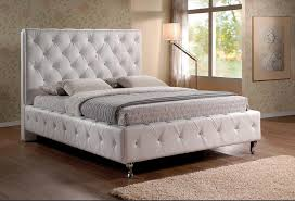 Milan Bed Frame Brand New Milan King Size Pu Leather Bed Frame White Beds