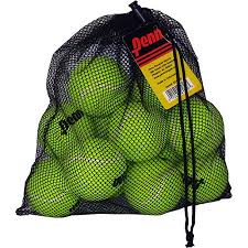 penn pressureless tennis pack 12 balls walmart