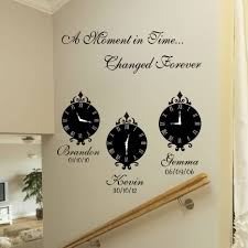 Quotes For Dining Room by Sticker Wall Clock Uk