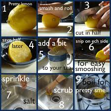 How To Clean The Kitchen Sink 37 Maneras De Limpiar Profundamente Tu Cocina Kitchens Lemon