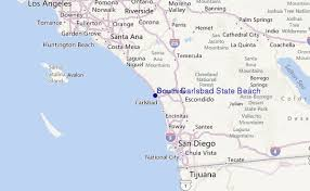 california map carlsbad south carlsbad state surf forecast and surf reports cal