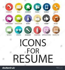 Send Me Your Resume Icons Set Your Resume Cv Job Stock Vector 357219389 Shutterstock