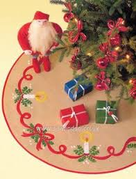 buy christmas tree tablemats set of 2 cross stitch kit online at