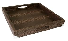Serving Tray Ottoman by Amazon Com Woosal Home Kitchen Decorative Tray Ottoman Square