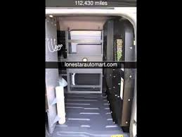 Ford Transit Connect Shelving by 2011 Ford Transit Connect Xlt Service Delivery Cargo Van Xlt Used