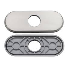 elite dp07bn brushed nickel bathroom sink faucet hole cover deck
