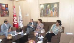 chambre de commerce tunisie un diplomate pakistanais reçu à la chambre de commerce et d