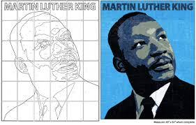 mlk mural diagram art projects for kids