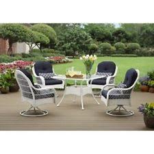 costco outdoor furniture wicker 4 piece patio set deck porch