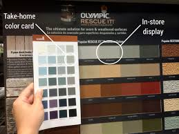 olympic exterior paint colors