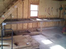 Plans For Building A Woodworking Bench by Garage Workbench Home Design By Larizza