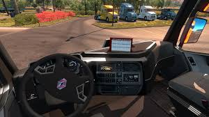 renault interior renault range t interior v1 0 for ats american truck simulator