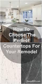 Kitchen Countertop Materials Best 25 Stone Countertops Ideas On Pinterest Countertops