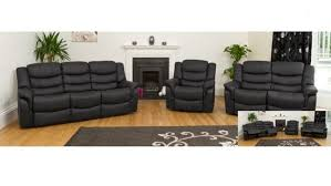 Black Leather Sofa Recliner Black Leather Sofa Recliner With Concept Photo 36097 Imonics