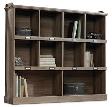 barrister lane wide bookcase u2013 salt oak the brick