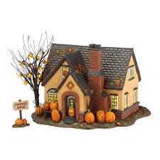 department 56 snow village halloween the pumpkin house trick or treat lane seriesdimensions 6 69in h