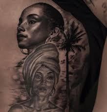 fan love have you seen drake u0027s new tattoo of lil wayne