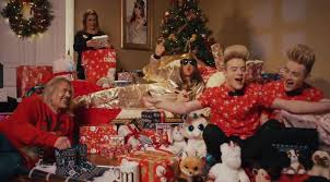 peacocks christmas advert 2017 features honey g jedward wagner
